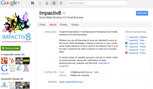 How to set up a a google+ page for your business