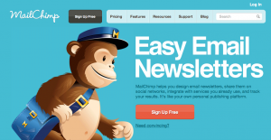 Mail chimp, mailchip small business solution for email marketing, email marketing tool