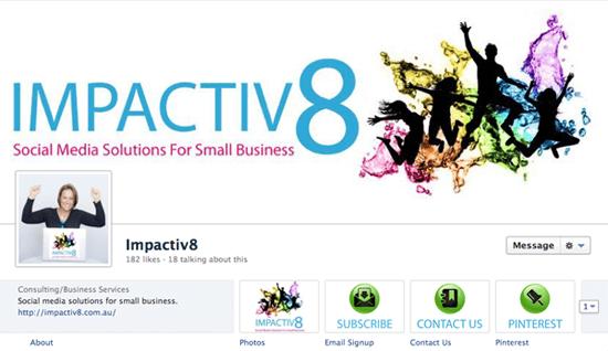 Impactiv8 Facebook Page