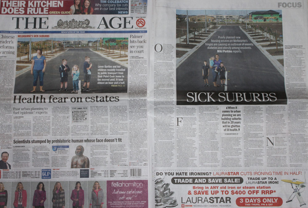 I Made It To The Front Page Of The Age Thanks To Social Media