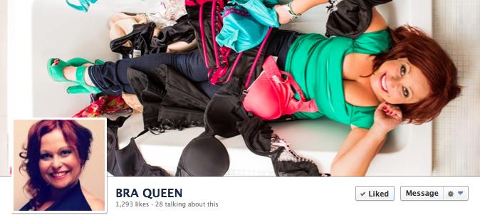 Facebook Cover Image - Bra Queen