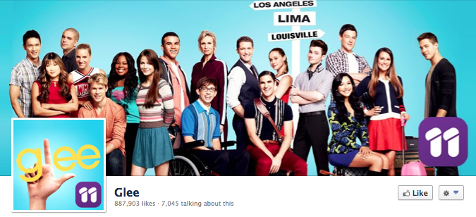 Facebook Cover Image - Glee 11