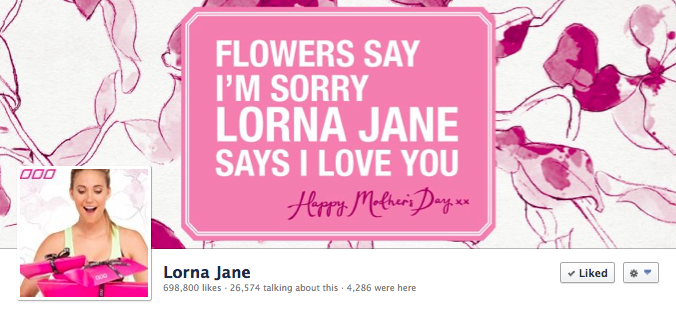 Facebook Cover Image - Lorna Jane