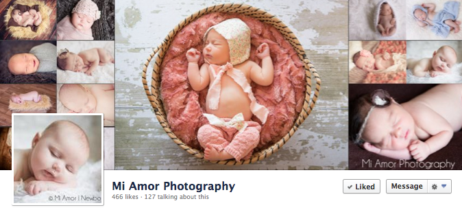 Facebook Cover Image - Mi Amor Photography