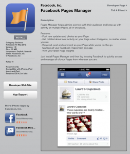 Where to download Facebook Pages Manager, iTunes, iPhone, Facebook, Facebook for business, How to use Facebook for business,