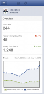 How to use the Facebook Pages Manger to check your insights