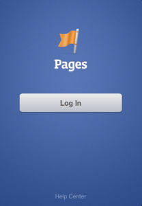 How to log in to your Facebook Pages Manager App