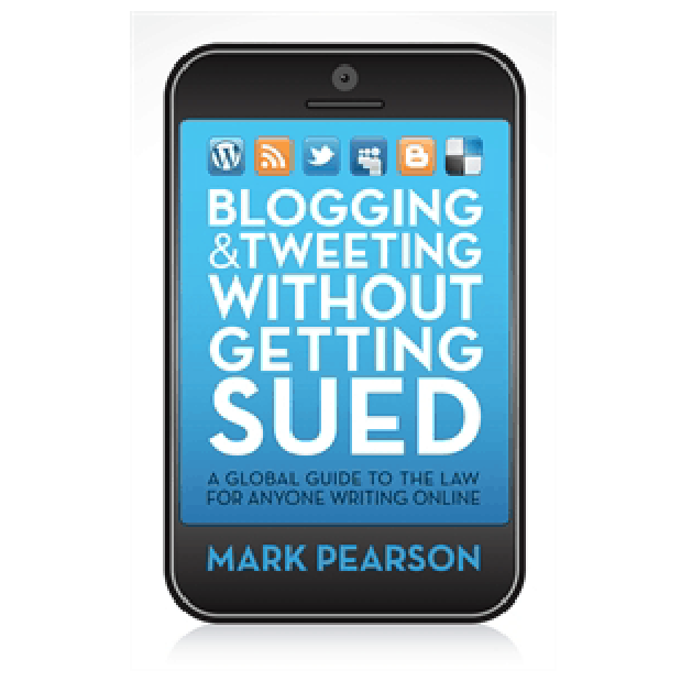 BOOK REVIEW: Blogging & Tweeting Without Getting Sued