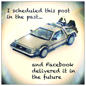 scheduling posts on facebook