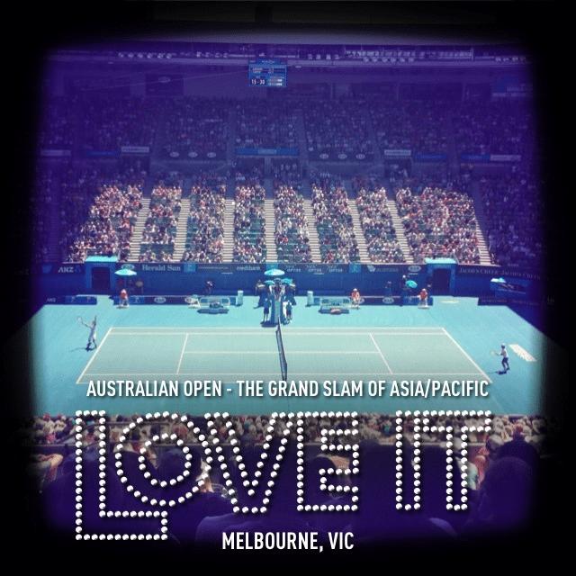 Australian Open 2013 - InstaPlace