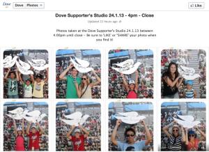 Dove Supporters Studio Facebook - Australian Open 2013, Tennis,