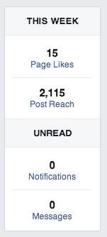 Facebook Page Insights This Week