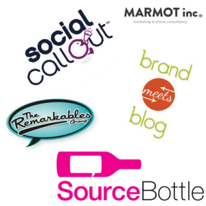 Blogger Agencies_sourcebottle_Social Callout_Brand Meets Blogs_The Remarkables Group_Marmot Inc_Nuffnang_