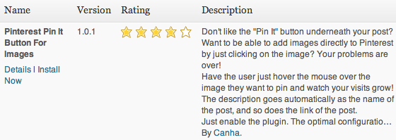 Pinterest Pin It Button For Images Plugin