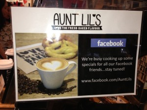 Facebook Page Promotion Ideas - Aunt Lil's