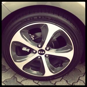 Kia Rondo Wheels