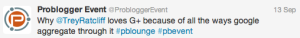 Tips For Using Hashtags At Events - PB Event Session Hashtags
