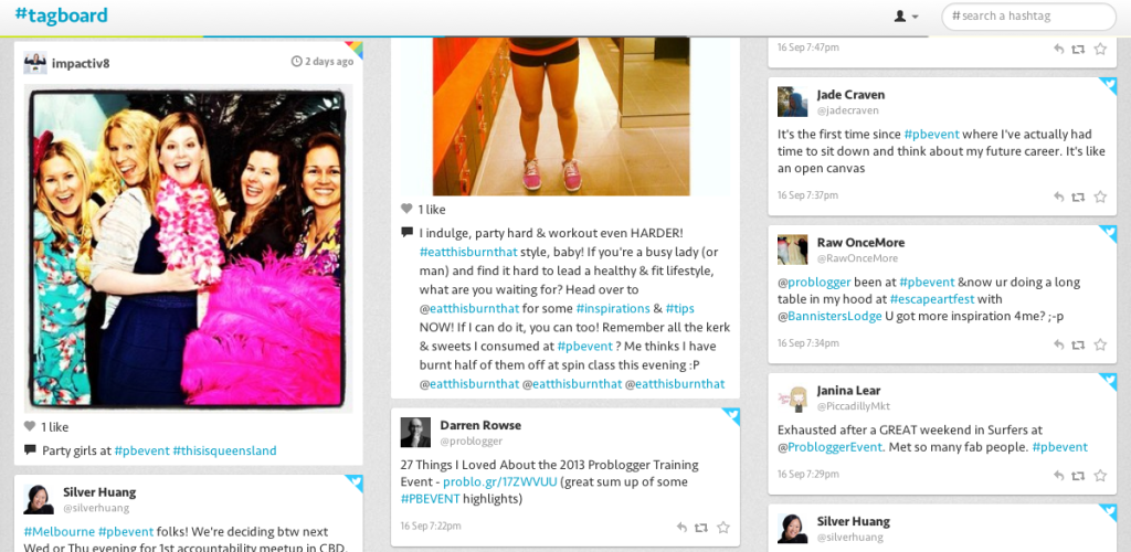 Tips For Using Hashtags At Events - PB Event Tagboard