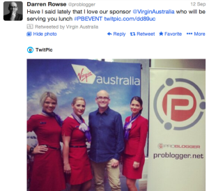 Tips For Using Hashtags At Events - PB Event Virgin Sponsors