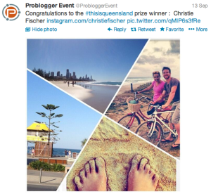 Tips For Using Hashtags At Events - PB Event thisisqueensland winner