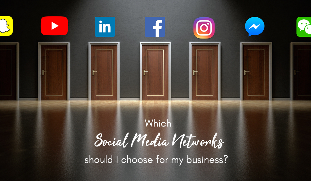 Which Social Media Networks Should I Use For My Business?