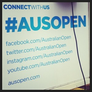 AusOpen Connect With us