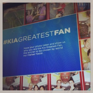usOpen kiagreatest fan hashtag