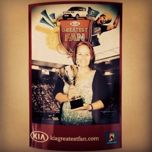 AusOpen kiagreatest fan hashtag photo