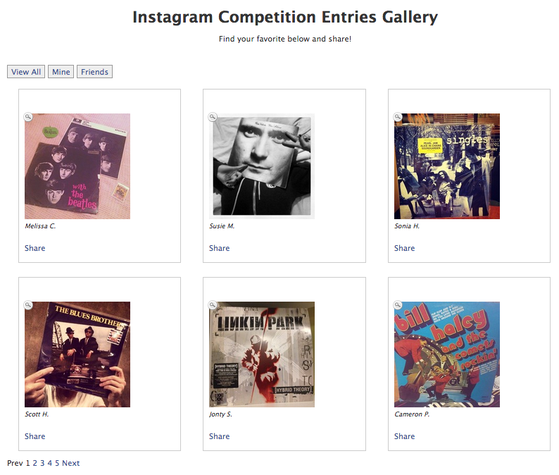 Instagram Competition on Facebook - Gallergy