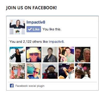 Join Us On Facebook Plugin