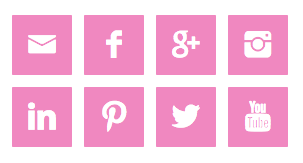 Website Social Sharing Buttons Example