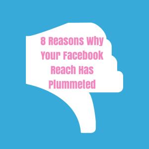 Facebook Page Reach Down
