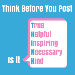 Social Media Guidelines For Business - Think Before You Post