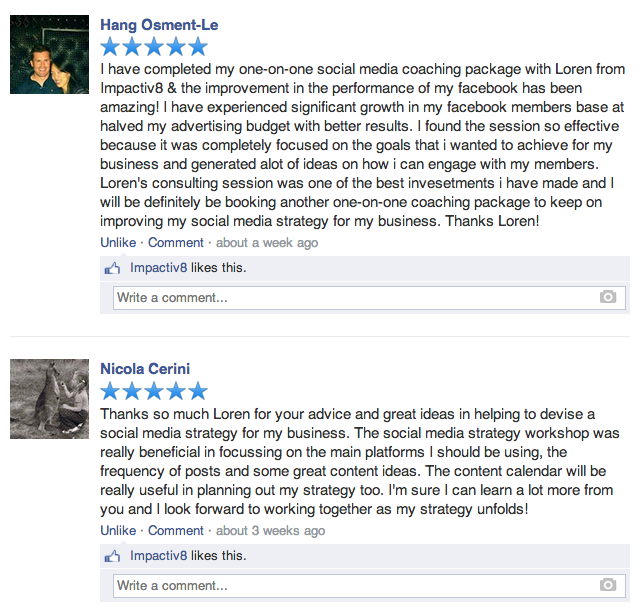 Astonishing How To Write A Facebook Review Impactiv8 Inspirational Interior Design Netriciaus