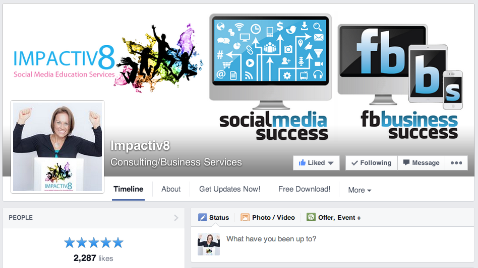 How to write a review on Facebook Page - Visit Page