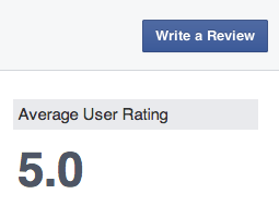 How to write a review on Facebook Page - Write A Review Button
