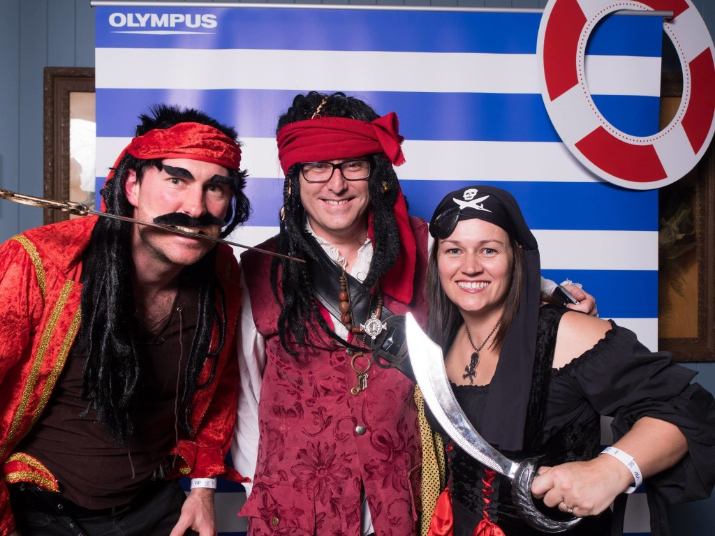 PBEvent Pirates Darren Rowse, Grove Galligan & Loren Bartley