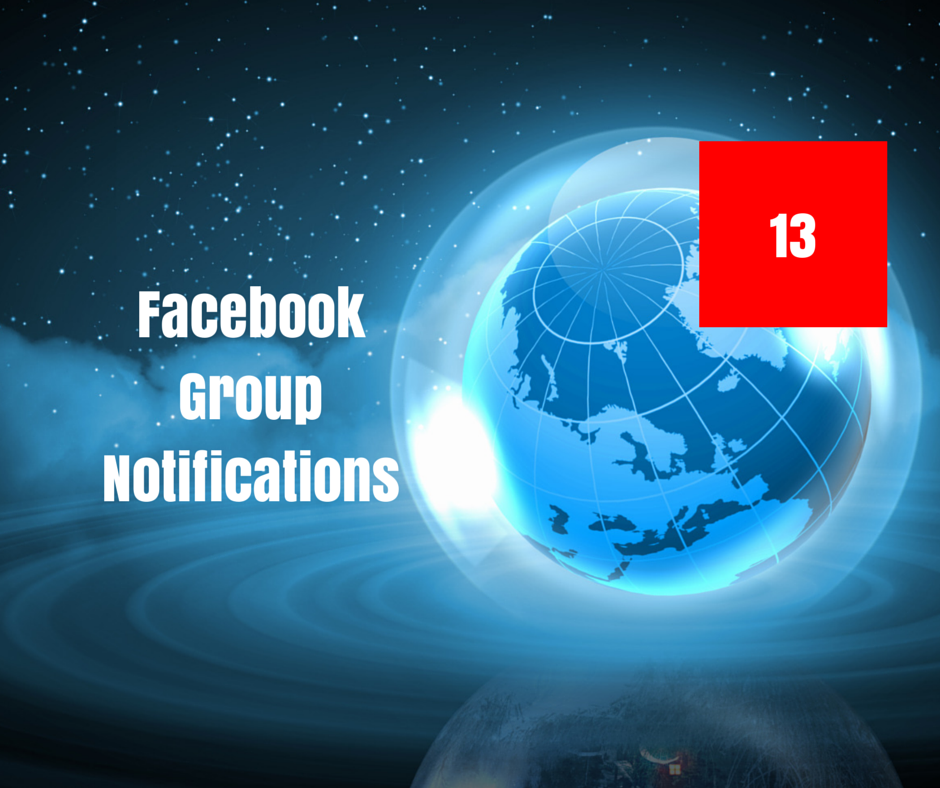 how to turn on facebook group notifications