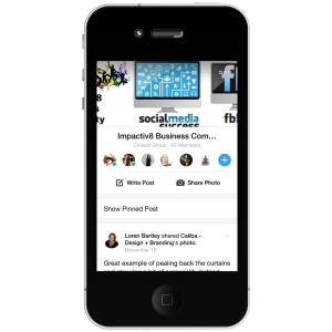 New Facebook Groups App Review - Impactiv8 Business Community