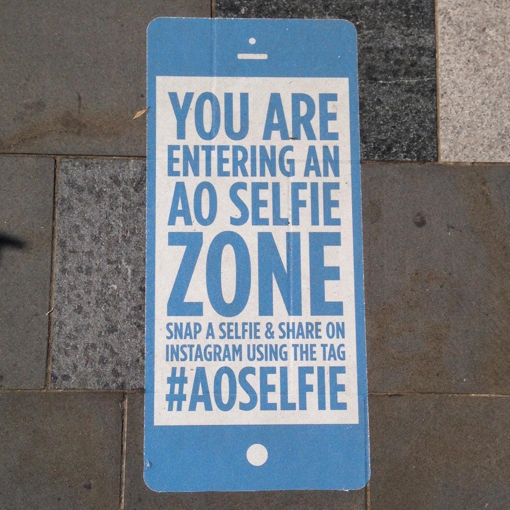 #AOSelfie Zone Australian Open 2015