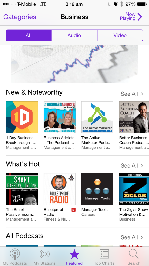Business Addicts New & Noteworthy