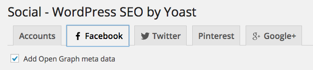 Facebook Author Tags - Social WordPress SEO by Yoast