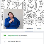 Facebook very responsive to messages icon - Cherie McKay