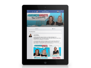 Podcasting Strategy - #BusinessAddicts The Community Private Facebook Group