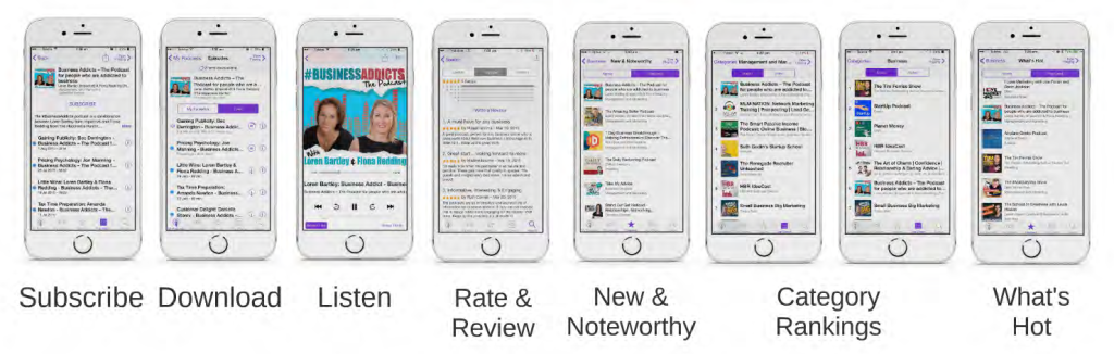 Podcasting Strategy - Rankings