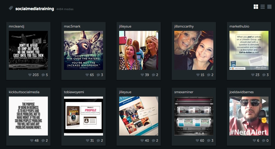 Find hashtags for instagram - Iconosquare 3