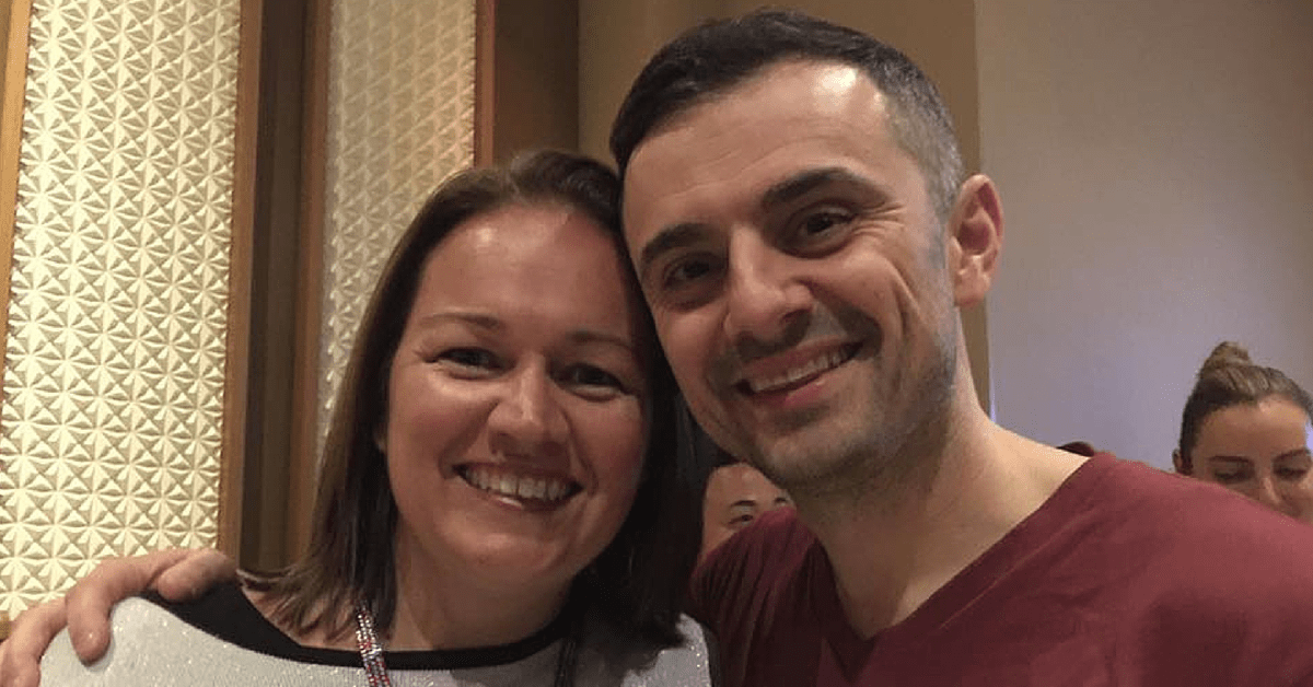 Gary Vaynerchuk and Loren Bartley