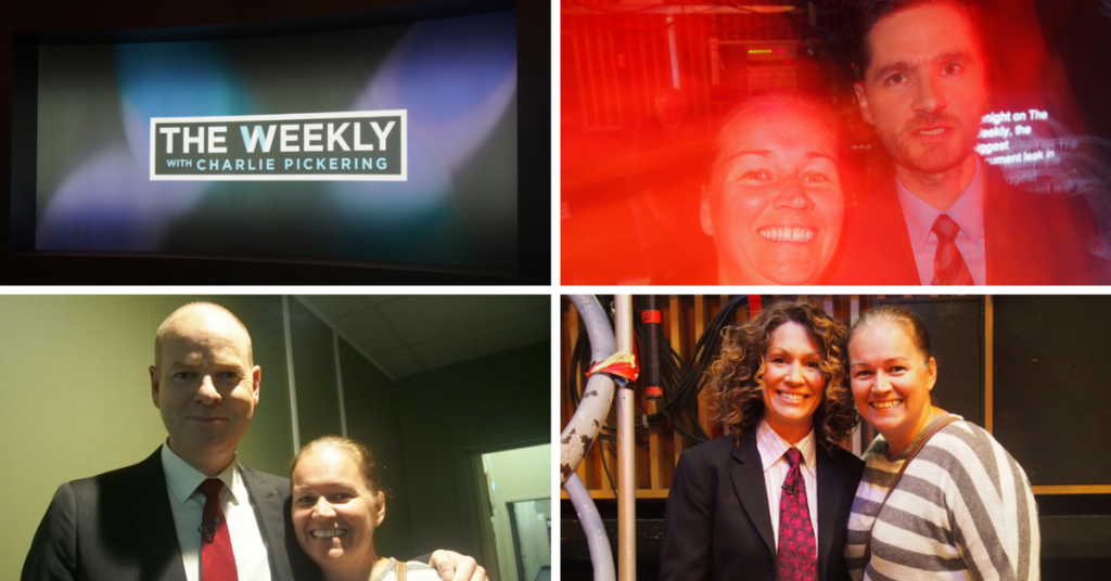The Weekly with Charlie Pickering Kitty Flanagan Tom Gleeson and Loren Bartley