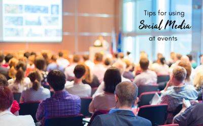 13 Top Tips For Using Social Media At Events