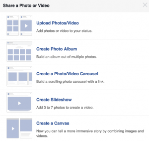 Create a Slideshow on Facebook